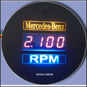 Conta Giro Digital Mercedes Benz