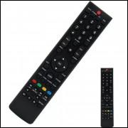 Controle Remoto Para Tv Led 32 H-buster Hdtv 720p Hbtv-32l05hd
