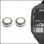 2 Pilhas LR41 para Relógio Fala Hora