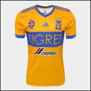 Camisa Tigres I 17/18 Adidas