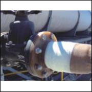 Fita de Reparo de tubulação para Alta Pressão e Submersa