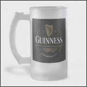 Caneca de Chopp - Guinness - Modelo 1 - Vidro Jateado 475ml