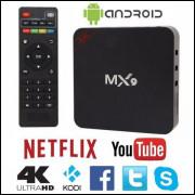 TV Box 4K MX9,ou MXQ Pro