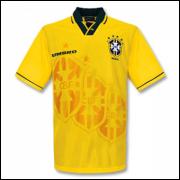 Camisa Brasil I -Dunga #8- Copa do Mundo 1994 Umbro