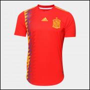 Camisa Espanha I Jogador Copa do Mundo 18/19 Adidas