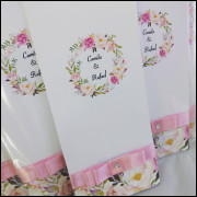 Manual Padrinhos Floral Rose  -8unidades