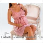 4509 Camisola de maternidade , gestante e  facilita amamentação , tamanhos 42, 44 , 46 , 48