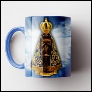 Caneca Nossa Senhora Aparecida - Porcelana 325ml
