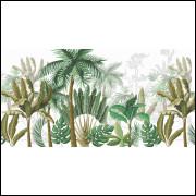 Painel Floresta Vintage 6,0 x 3,0 + Almofadas 40 x 40