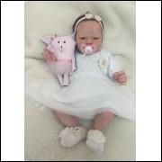 Bebê Reborn kit Artticus menina SOB ENCOMENDA - 30 DIAS PARA CONFECÇÃO