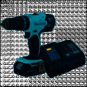 Parafusadeira/Furadeira com Impacto a Bateria 18V Lítio com Carregador Bivolt - MAKITA-DHP453X10 COD