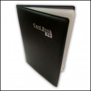 Carteira Porta Cartão e Documento com 8 Divisórias Preto