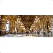 Painel Sublimação Palácio 2,0 Alt X 5,0 Larg Sem Emenda
