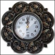 Relógio de Parede Retrô Vintage Movimento Contínuo