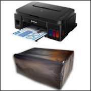Capa Para Impressora Canon G3100 com Proteção UV Impermeável