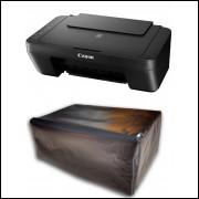 Capa Para Impressora Canon Mg2510 com Proteção Uv Impermeável