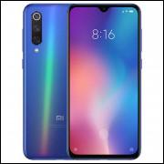 Smartphone Xiaomi Mi 9 Dual Sim 128GB de 6.39  48+12+16MP/20MP OS 9.0- Azul