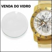 Vidro para Relógio Bulgari Automático ou Eletronico Transparente