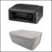Capa Pra Impressora Epson Xp-231 Branca Impermeável Proteção Uv