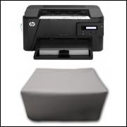 Capa Pra Impressora HP M201 Branca Impermeável Proteção Uv
