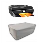 Capa Pra Impressora HP 5276 Branca Impermeável Proteção Uv