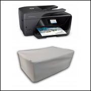 Capa Pra Impressora HP 6970 Branca Impermeável Proteção Uv