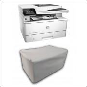 Capa Pra Impressora HP M426 dw Branca Impermeável Proteção Uv