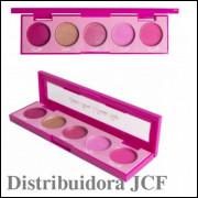 Paleta de Sombras Stone Quartzo Rosa Playboy PB1060