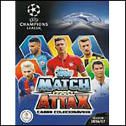 Figurinhas do Album Uefa Champions League 2016 2017 Cards Topps