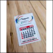 MEga Promoção Mini Calendário Personalizado Empresas- 120 unidades