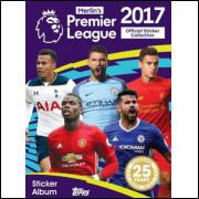 Figurinhas do Album Premier League 2017 Topps