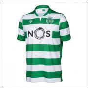 Camisa Sporting Lisboa I 19/20 Macron