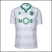 Camisa Sporting Lisboa III 19/20 Macron