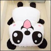 puff Panda medida 90x100 enviado cheio