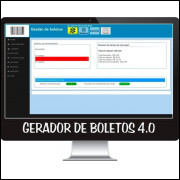 Script Gerador De Boletos 4.0 Com Remessa Atualizado 2017