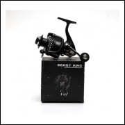 Molinete Beast King Bk4000, Carretel Aluminio, 13+1 Rolamentos