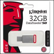Pendrive Kingston 32GB Usb 3.1 Data Traveler Dt 50