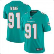Camisa Miami Dolphins I Futebol Americano NFL