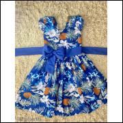 Vestido Infantil Abacaxi
