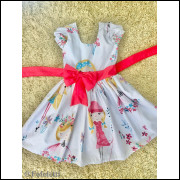 Vestido Infantil Boneca