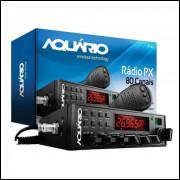 RADIO PX AQUARIOS 80 CANAIS HOMOLOGADO ANATEL
