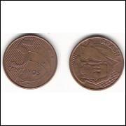 5 centavos/real - 2004 - REVERSO HORIZONTAL DIREITO (470b)-