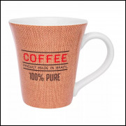 024 Caneca Oxford Tulipa Café Coffee Bag 330 ml Ceramica