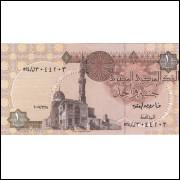 EGITO - 1 Libra 2007 - P.50L - FE