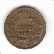 1925 - 1000 Reis - Simbolo da Fartura - mbc(+)- V129