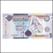LIBIA 1 Dinar 2009 - P.71 - FE
