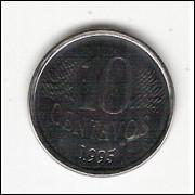 10 centavos/Real - FAO - 1995 - FC - ESCASSA (455)