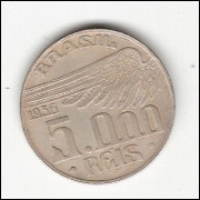 5000 reis - 1936- Santos Dumont - sob -(721)=2