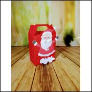 Caixa Natal Papai Noel-  5 unidades
