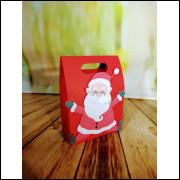 Sacolinha Natal Papai Noel - 5unidades